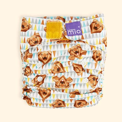 Grizzly Bambino Mio Miosolo All-In-One Nappy