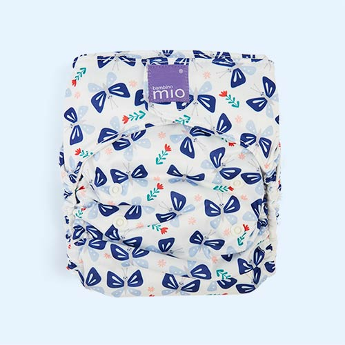 Butterfly Bloom Bambino Mio Miosolo All-In-One Nappy