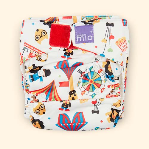Circus Time Bambino Mio Miosolo All-In-One Nappy