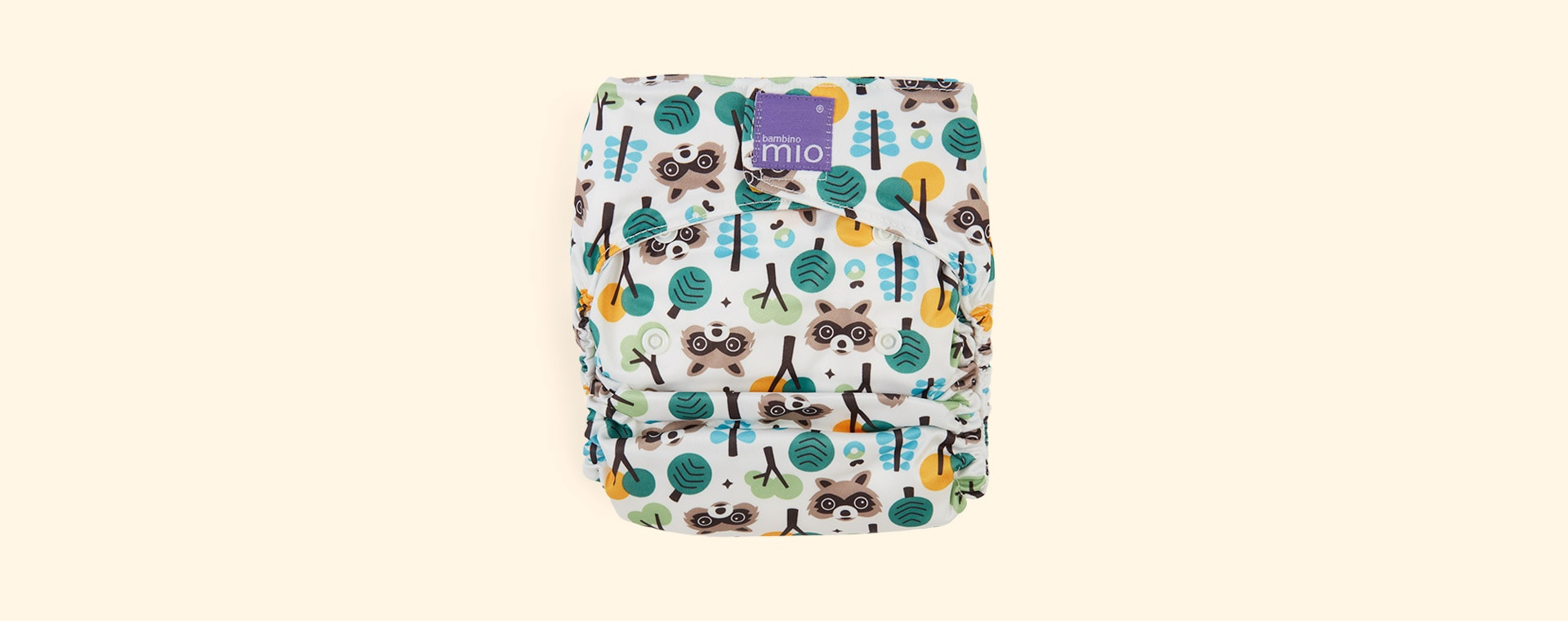 Racoon Retreat Bambino Mio Miosolo All-In-One Nappy