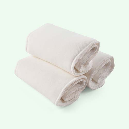 White Bambino mio Mioboost Nappy Boosters - 3 Pack