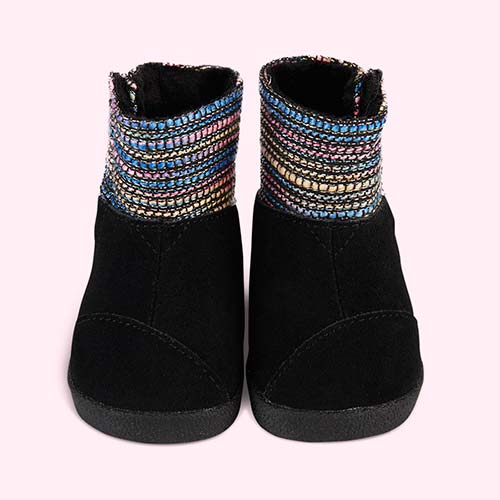 Metallic Woven Toms Tiny Toms Nepal Boot