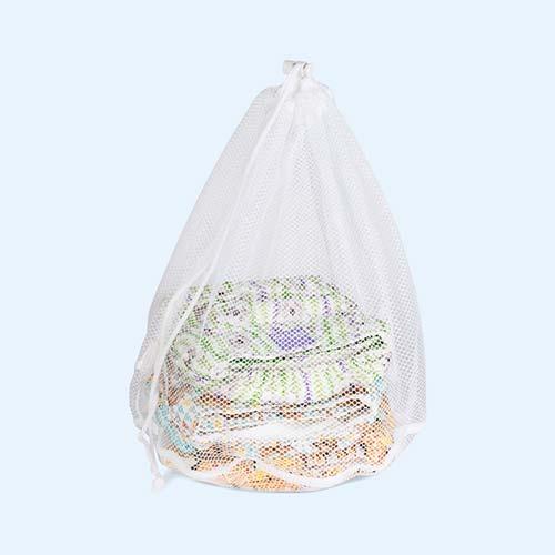 White Bambino Mio Laundry Bags - 2 Pack
