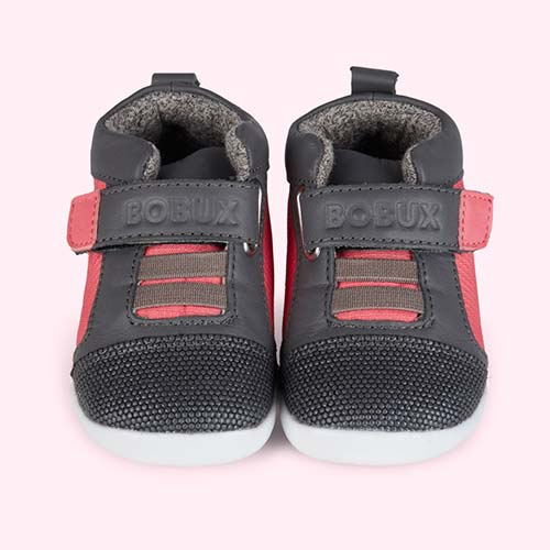 Fuschia Bobux Step Up Street Tint Trainer