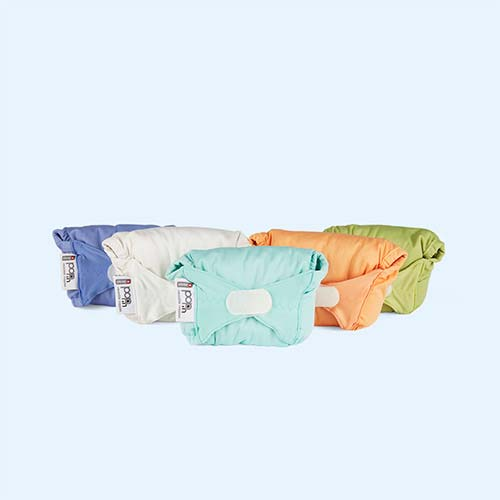 Pastels Close Pop In Reusable Nappies Little Box