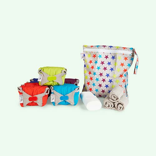 Brights Close Pop In Reusable Nappies Middle Box