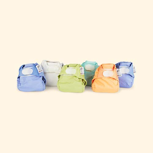 Pastels Close Newborn Nappy Box