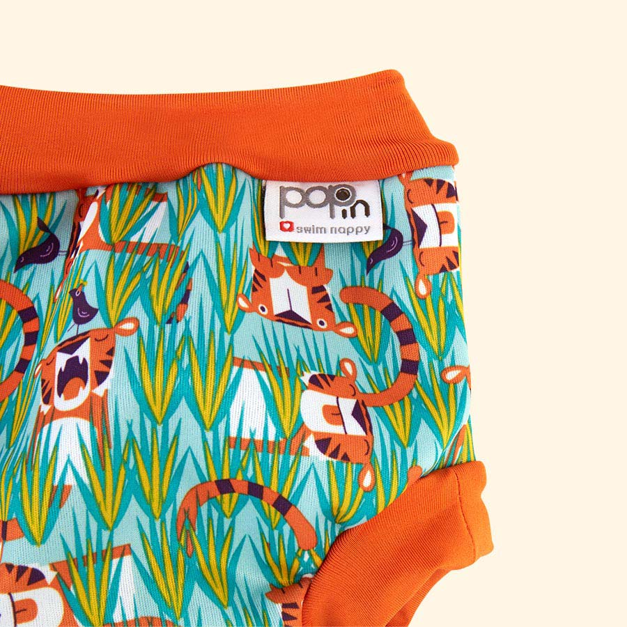 Tiger Close Swim Nappy