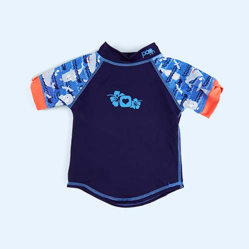 Whale Close Pop In Rash Vest