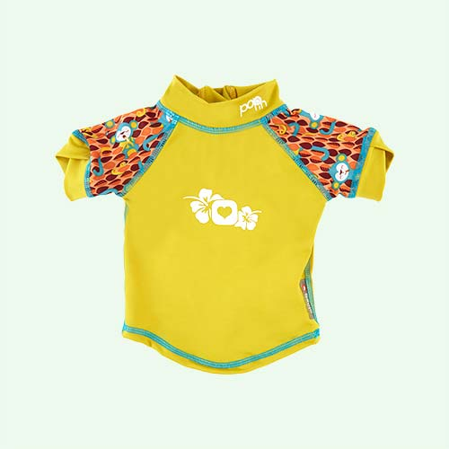 Monkey Close Pop In Rash Vest
