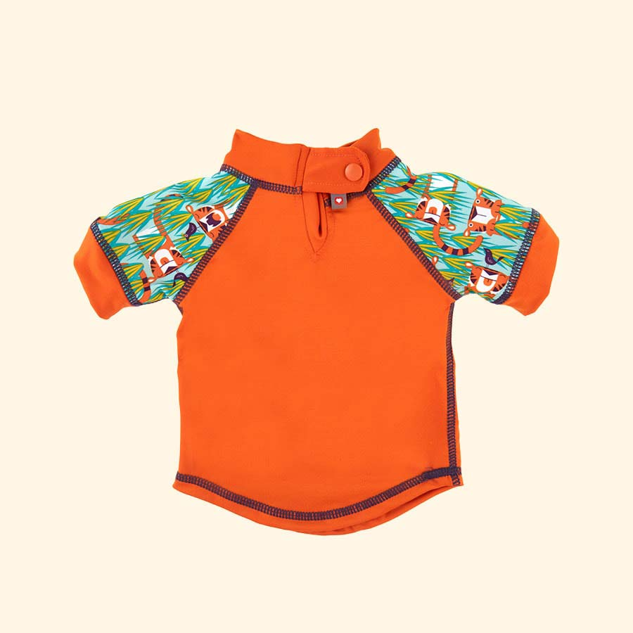 Tiger Close Pop In Rash Vest