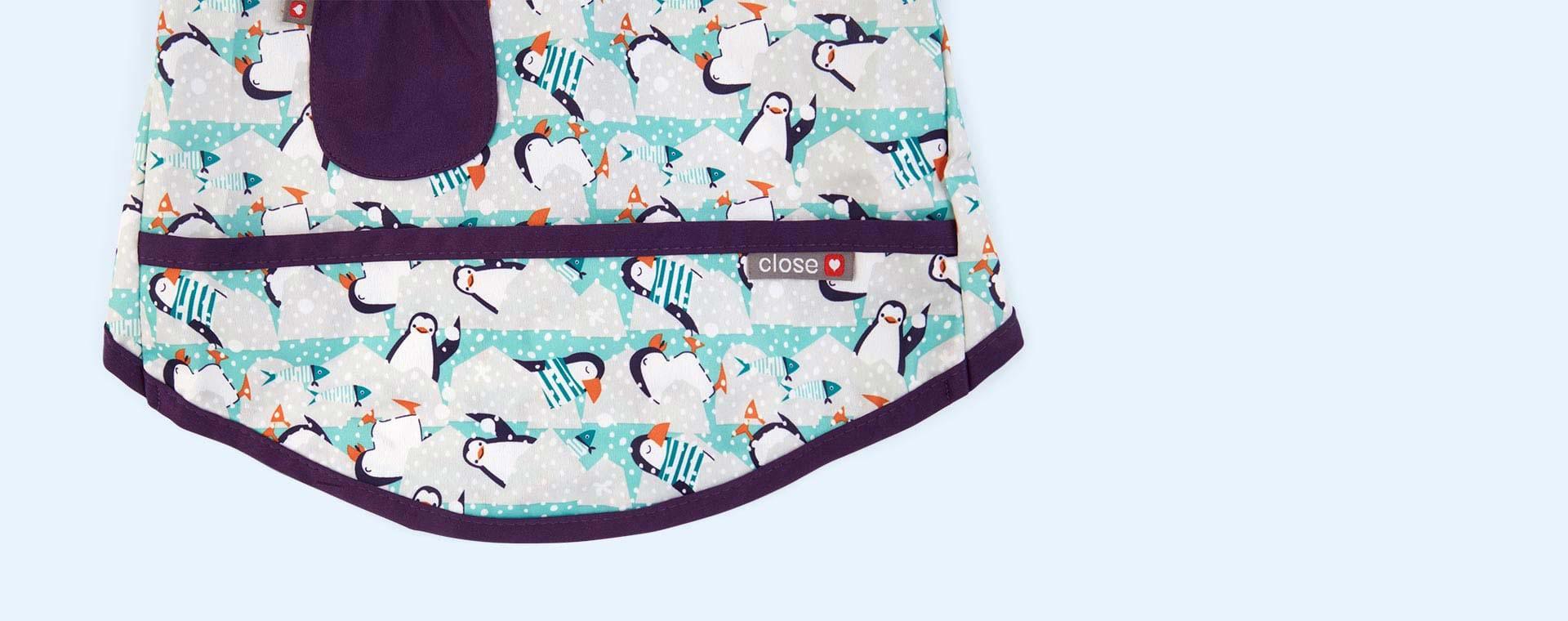 Penguin Close Pop In Coverall Bib