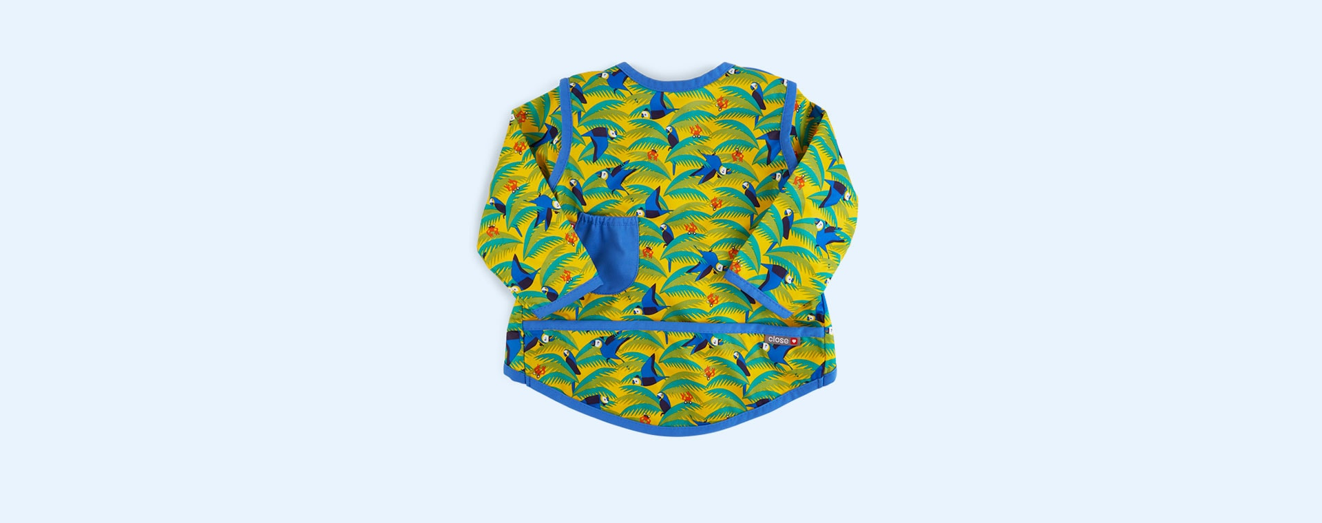 Parrot Close Pop In Coverall Bib