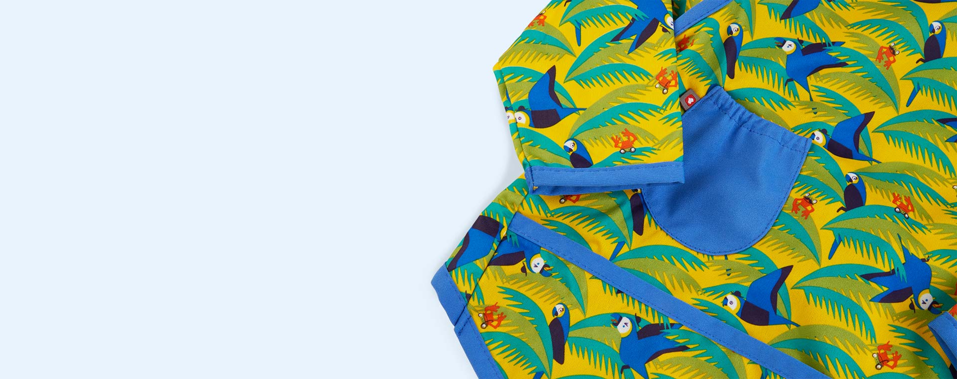 Parrot Close Pop In Coverall Bib
