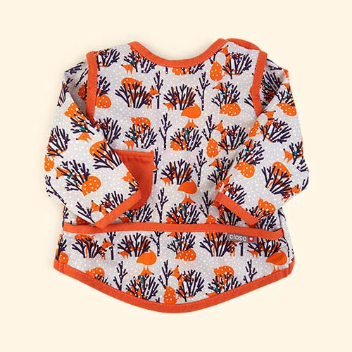 Fox Close Pop In Coverall Bib