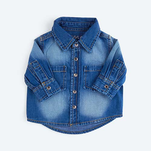 Denim KIDLY's Own Denim Shirt