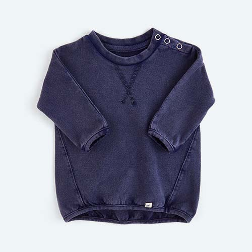Navy KIDLY's Own Lightweight Sweatshirt