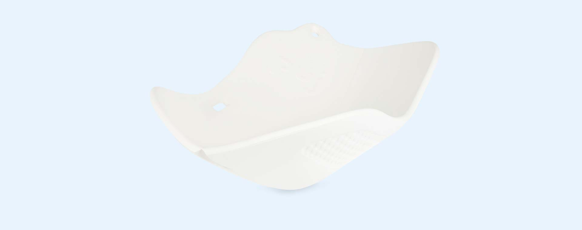White Puj Flyte Portable Bath