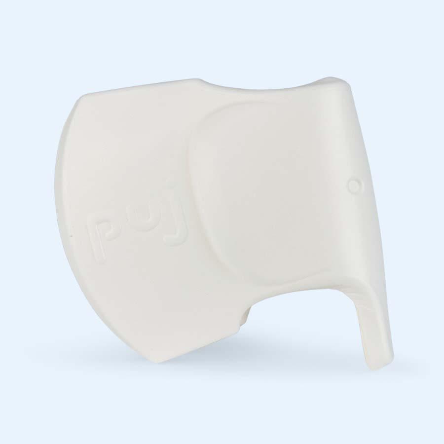 White Puj Snug Tap Cover