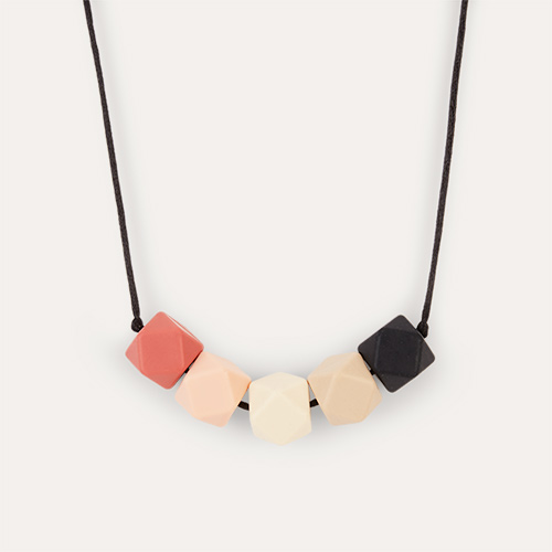 Phoebe Lara + Ollie Teething Necklace