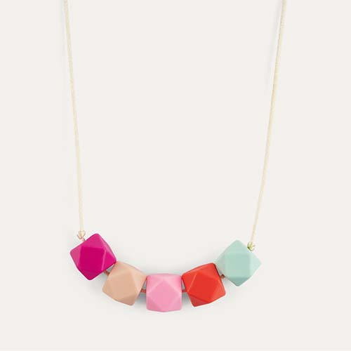 Flora Lara + Ollie Teething Necklace