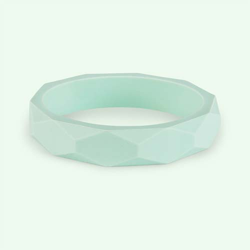 Mint Lara + Ollie Teething Bangle