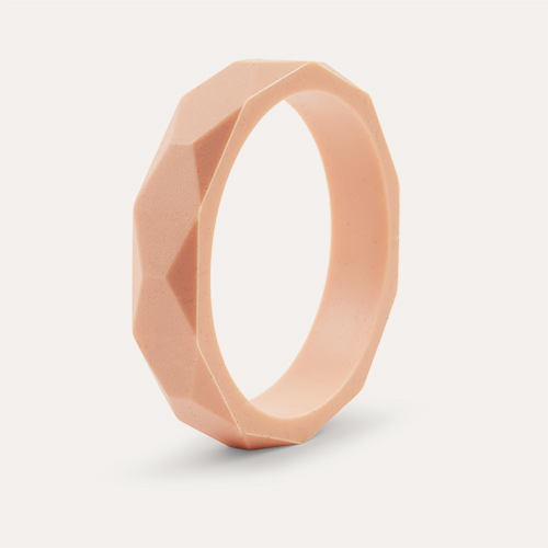 Blush Lara + Ollie Teething Bangle