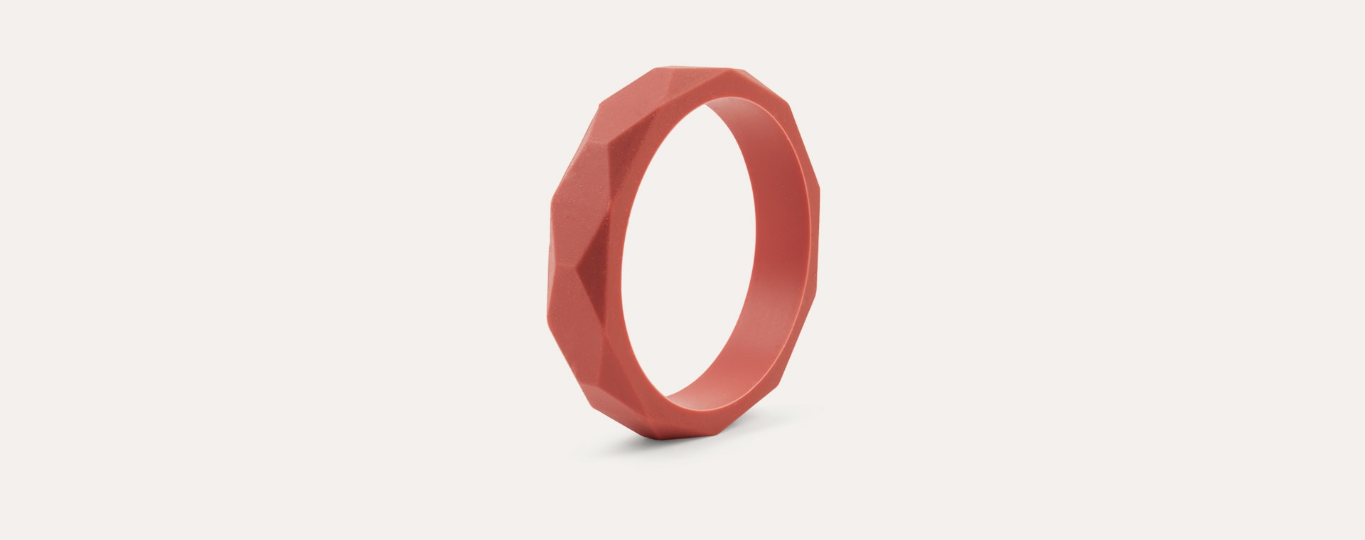 Maroon Lara + Ollie Teething Bangle