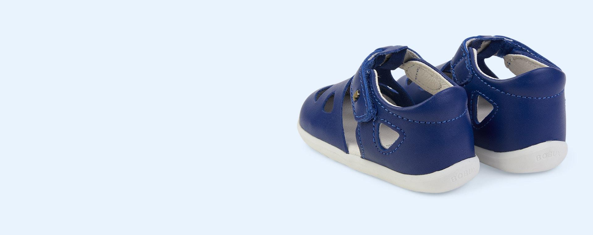 Blueberry Bobux Step Up Classic Zap Sandal