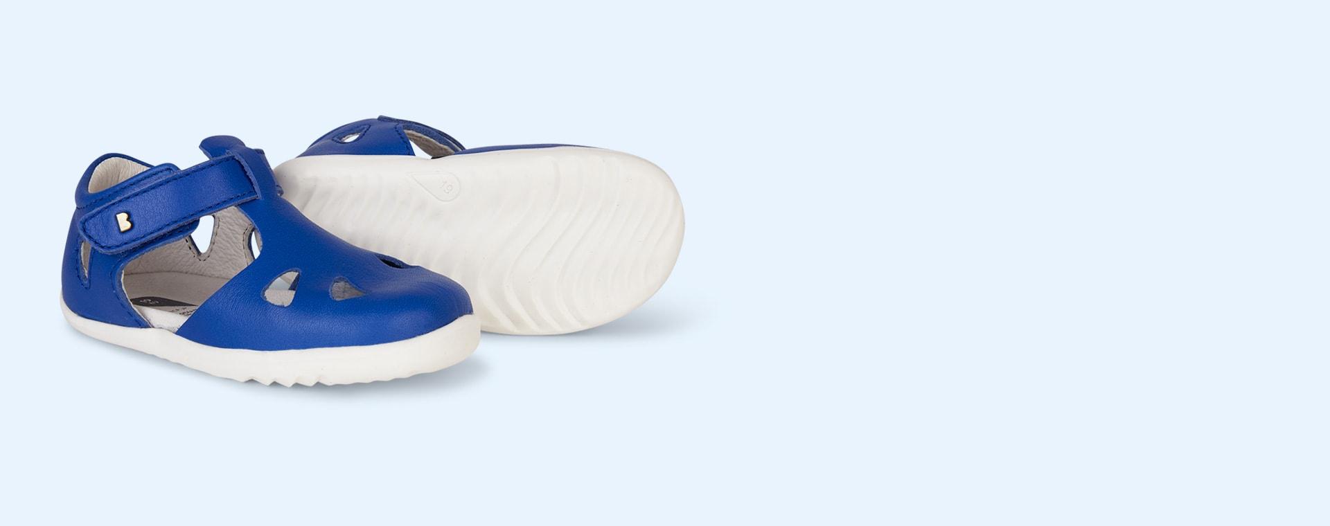 Sapphire Bobux Step Up Classic Zap Sandal