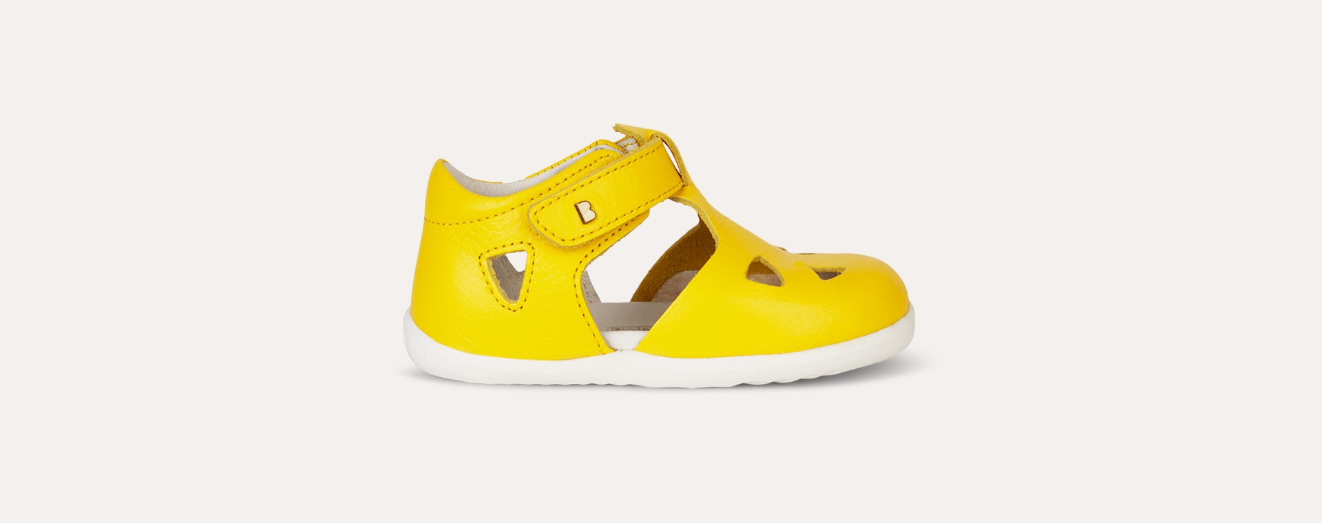 Yellow Bobux Step Up Classic Zap Sandal