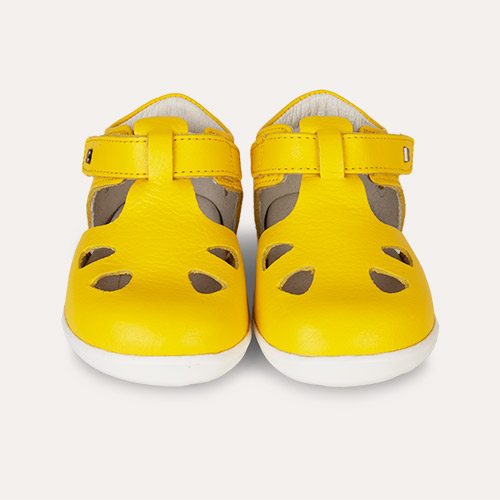 Yellow Bobux Step Up Classic Zap Sandal