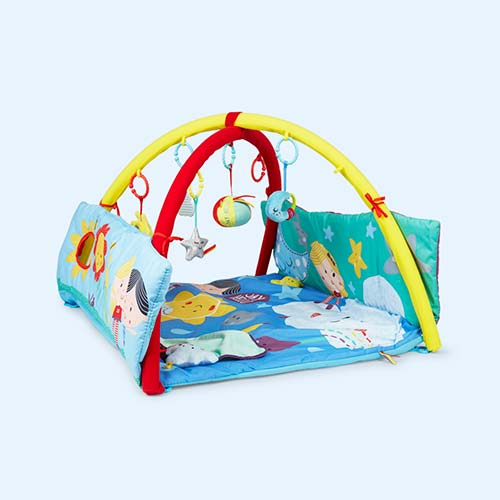 Multi East Coast Nursery 'Say Hello' 4- in -1 Discover World Playmat