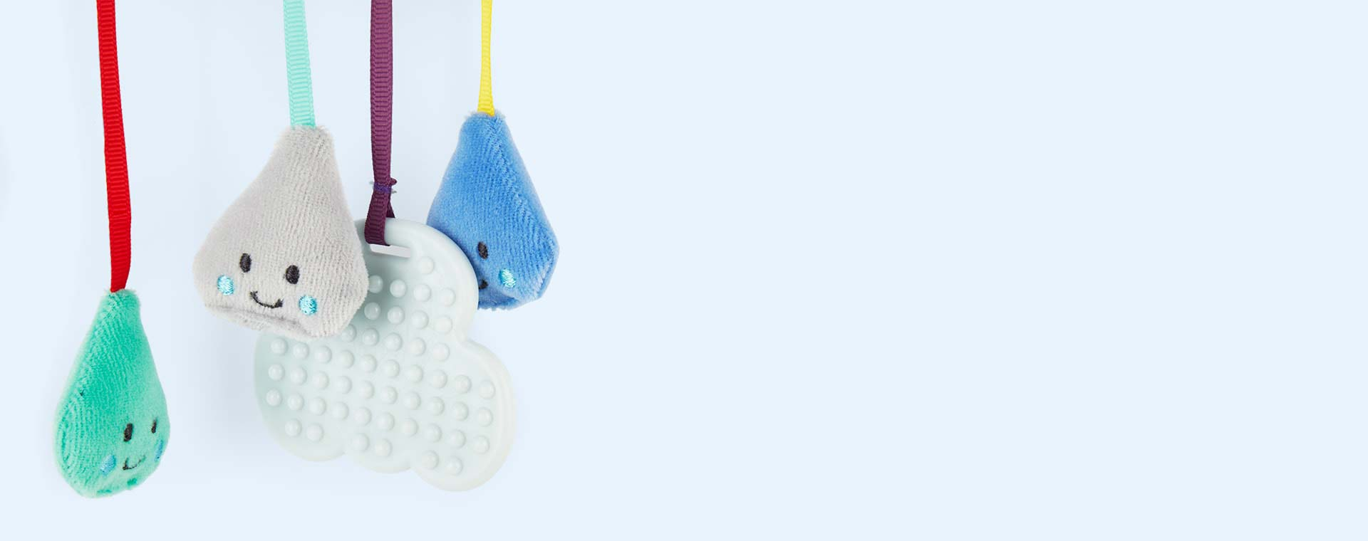 Blue East Coast Nursery 'Say Hello' Cloud Stroller Toy