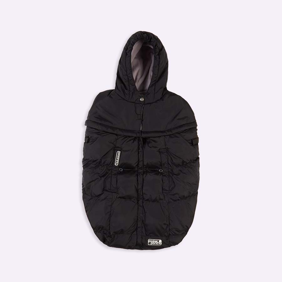 Black 7 A.M. Enfant Pookie Poncho