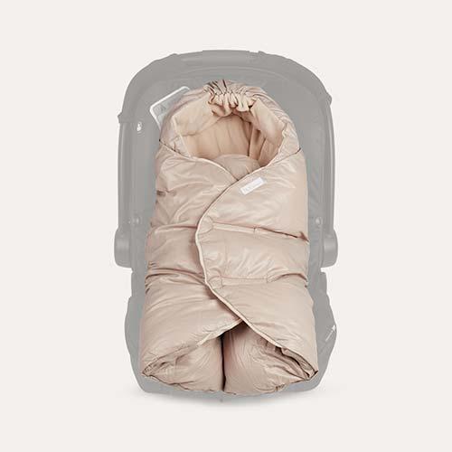 Beige 7 A.M. Enfant Nido Car Seat Baby Wrap