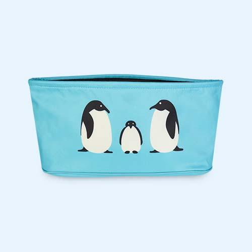 Teal Penguin Bundle Bean Stroller Organiser