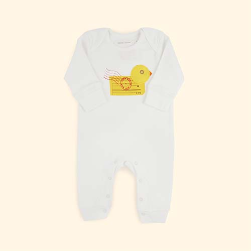 Duck From Babies With Love Organic Babygrow