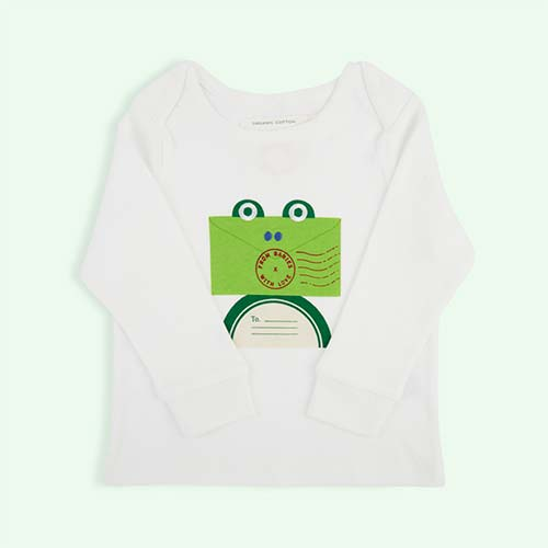 Frog From Babies With Love Organic Long Sleeve Tee