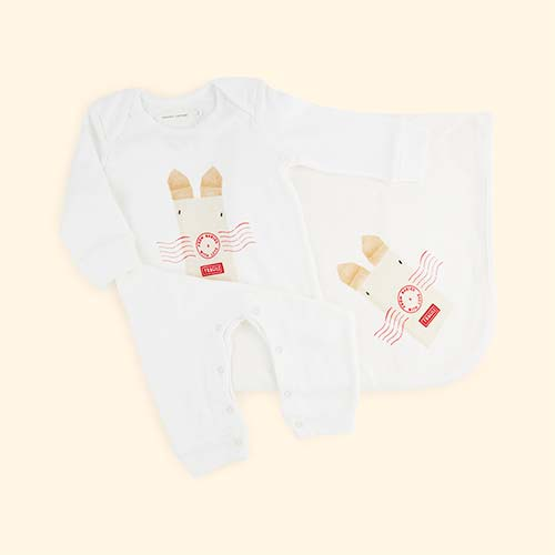 Rabbit From Babies With Love Organic Cotton Gift Set