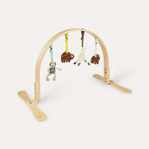 Birch Jungle Finn + Emma Wooden Play Arch