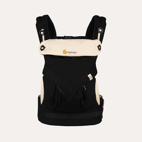 Black/Camel Ergobaby 360 Baby Carrier
