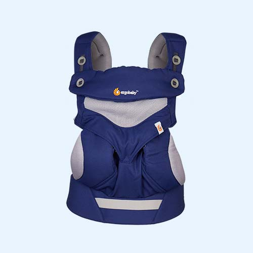 French Blue Ergobaby 360 Performance Carrier