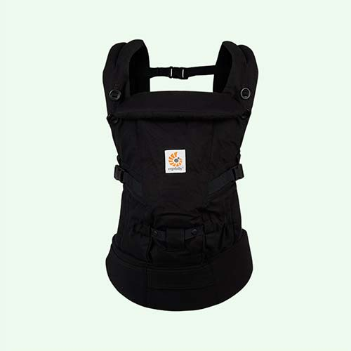Black Ergobaby Adapt Baby Carrier