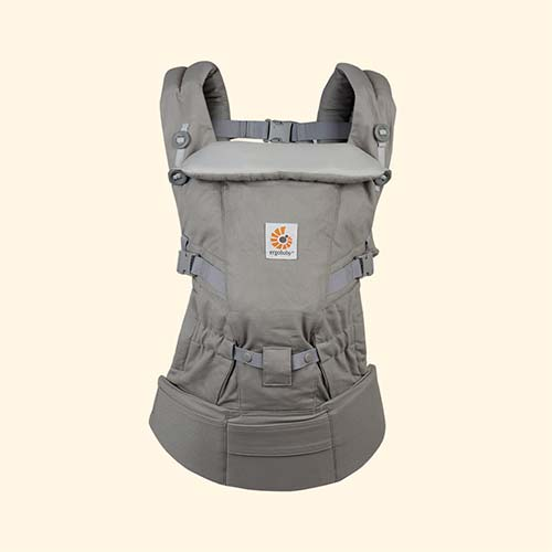 Grey Ergobaby Adapt Baby Carrier