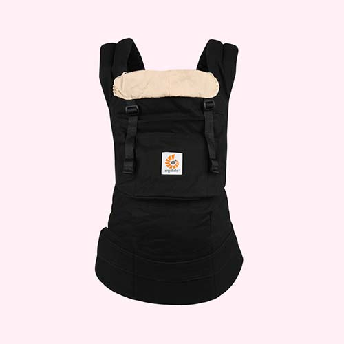 Black/Camel Ergobaby Original Baby Carrier