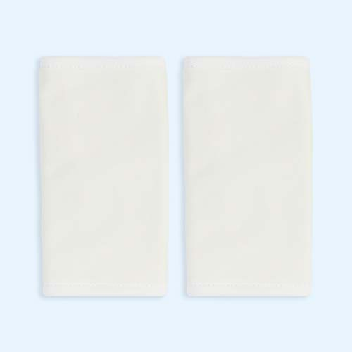 Cream Ergobaby Original Teething Pad - 2 Pack