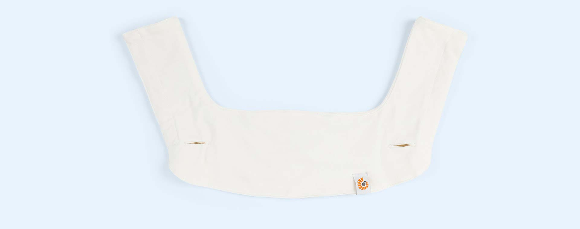 Cream Ergobaby 360 Teething Pad & Bib Set