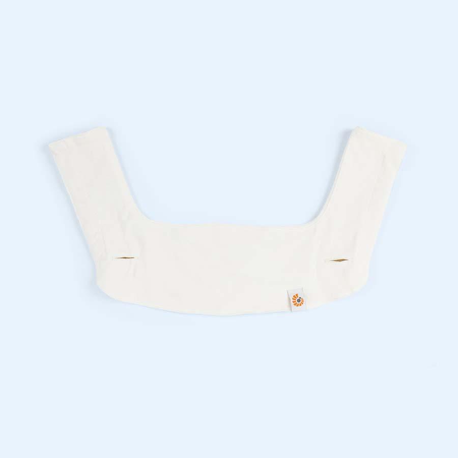 Cream Ergobaby 360 Teething Pad & Bib Set
