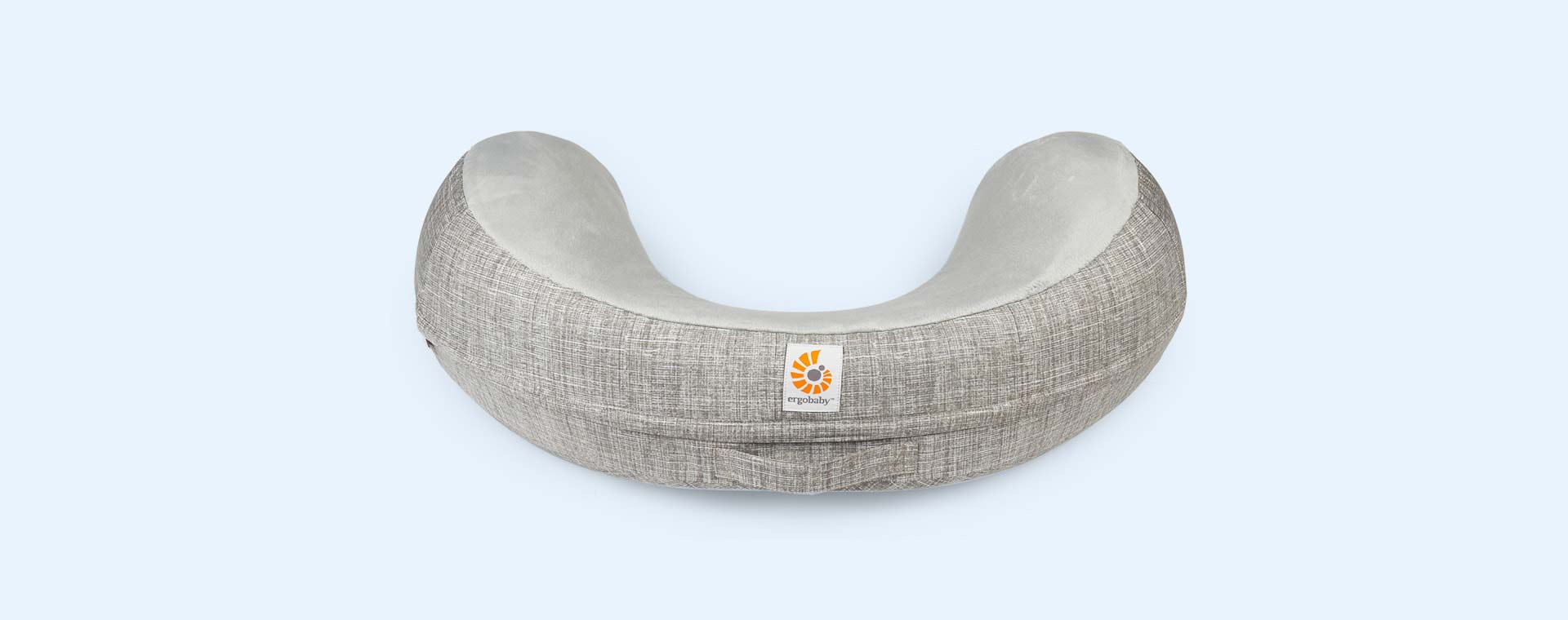 Grey Ergobaby Natural Curve Nursing Pillow Cover